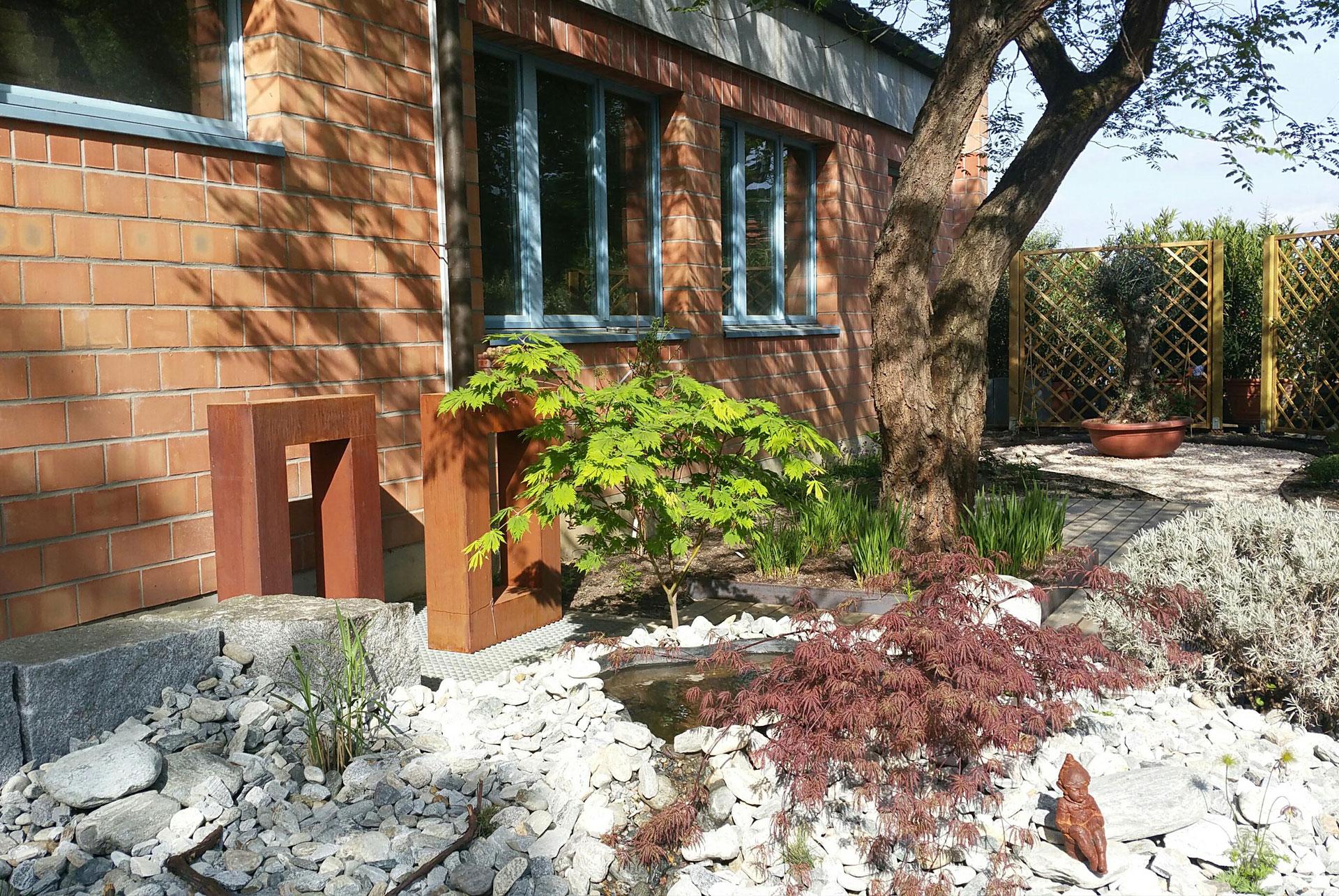 Gartenumbauten und Neugestaltungen