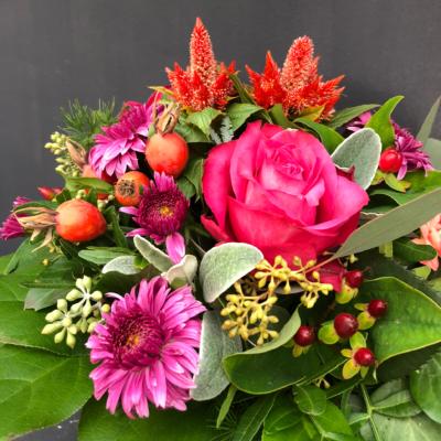 Blumenstrauss in Pink