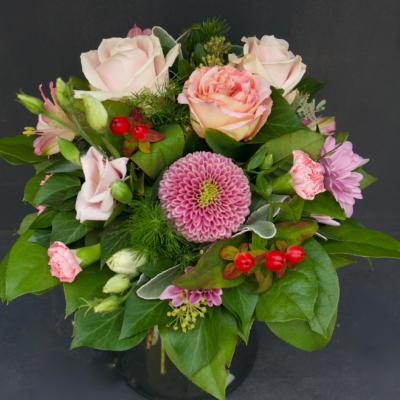 Blumenstrauss in Rosa