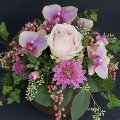 Blumengesteck Rosa